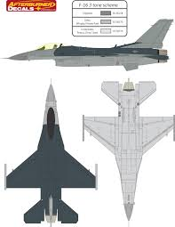 general dynamics f 16 fighting falcon usaf three color camouflage