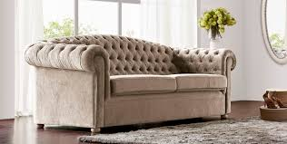 chesterfield sofa fabric 2 seater brown venezia jetclass