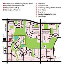 Centre Bell Floor Plan New Community Shopping And Dining Spruce Grove Alberta