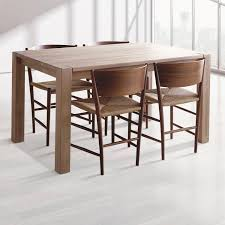 Beech Dining Room Furniture by Contemporary Dining Table Beech Oak Iroko Square Spekva