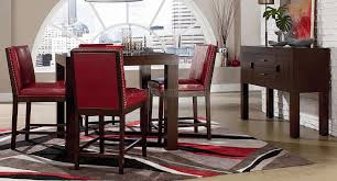 red and white tray ceiling white black sofa modern chair