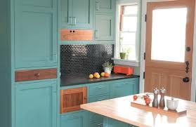 kitchen furniture blue kitchen cabinets with butcher block rtablue