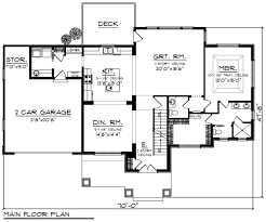 Four Car Garage House Plans by Craftsman Style House Plan 4 Beds 3 50 Baths 2486 Sq Ft Plan 70