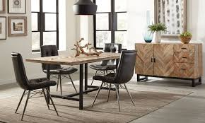 Rustic Modern Dining Room Tables Dining Table Rustic Modern Dining Room Design With Solid Wood