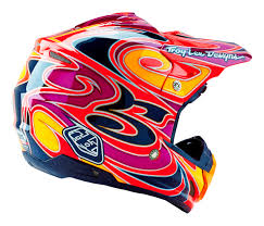 troy lee designs motocross helmet troy lee designs new mx gear 2016 se3 reflection red motocross