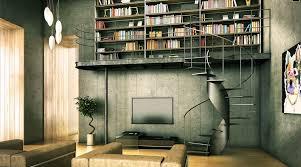 industrial home design rumah bks