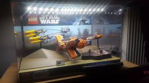 orginal lego star wars shop display cabinet 7962 in plymouth