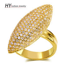 ladies finger rings images Geometric design new fashion ladies finger rings gold color cz jpg