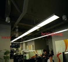 Industrial Fluorescent Light Fixtures Commercial Pendant Lighting Fixtures Office Pendant L Interior
