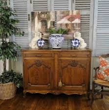 antique french country buffet sideboard server beautifully carved