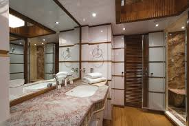 En Suite Bathrooms by Luxury Yacht Charter En Suite Bathroom Aboard Princess Iolanthe