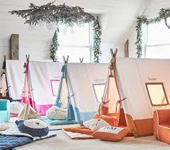 Tents For Kids Room by Pink A Frame Tent Pottery Barn Kids