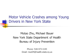 drivers bureau motor vehicle crashes among drivers in york state motao
