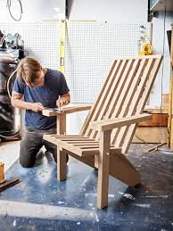 Wood Lawn Chair Plans Free by Best 25 Contemporary Adirondack Chairs Ideas On Pinterest