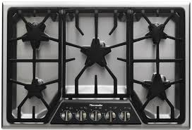 30 Inch 5 Burner Gas Cooktop Thermador 30 Inch Cooktops