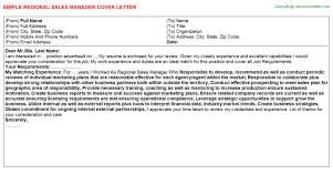 craft beer sales manager cover letters