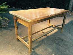 Hamilton Drafting Table Vintage Industrial Drafting Table At 1stdibs Home Decoration
