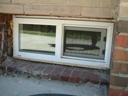 best sliding basement windows make vinyl sliding basement