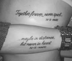 10 super romantic quote tattoo ideas for couples yourtango