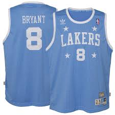 lakers light blue jersey adidas kobe bryant los angeles lakers youth blue hardwood classics