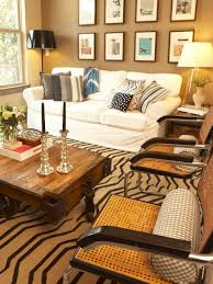 Neutral Slipcovers That Pop HGTV - Slipcovers for living room chairs