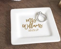 engagement ring dish personalized engagement ring dish personalized ring holder