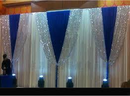 wedding backdrop blue online shop 3m 6m white wedding stage background silk drape