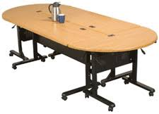 Racetrack Boardroom Table Modular Furniture Conference Room Tables Half Round 48