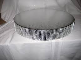 bling cake stand bling wedding cake stand 20 inch dazzling diamonds 2501557