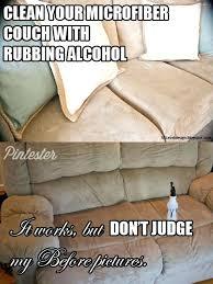 How To Clean Microfiber Chair Clean Microfiber Couch With Vinegar White Sofa Natuzzi