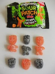 halloween patches kev u0027s snack reviews maynards sour patch kids heads and bodies