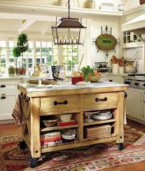 pottery barn kitchen island enthralling pottery barn rolling kitchen island from unfinished
