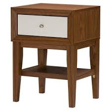 modern u0026 contemporary faux shagreen nightstand allmodern