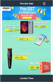 amazon app scam black friday xiaomi redmi note 4 for rs 1 099 what are these pre gst offers on