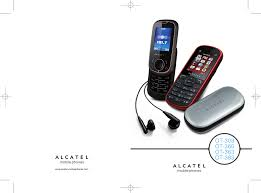 alcatel mobile phones ot 363 pdf instruction manual free download