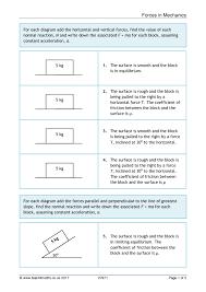 Ks3 Forces Worksheet All Our Ks5 Maths Resources Teachit Maths