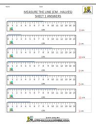 measurement math worksheets measuring length