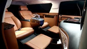 luxury minivan interior vip custom cadillac escalade suv hq custom design