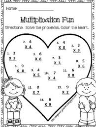 free multiplication worksheet enjoy this adorable multiplication