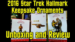 2016 hallmark trek keepsake ornaments review
