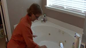 Really Cheap Home Decor Bathroom Cleaning Tips How To Clean A Stained Bathtub Youtube