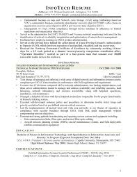 Physical Security Specialist Resume It Security Specialist Resume Resume Ideas