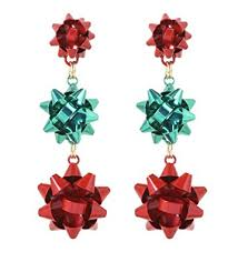 christmas earrings vk accessories 3 pairs christmas earring different