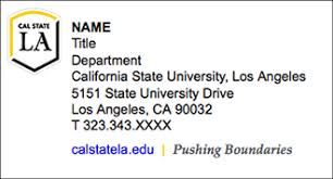 new brand templates california state university los angeles