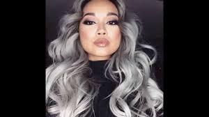 hair trend 2015 the grey hair trend 2015 youtube