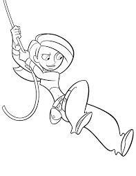 Kim Possible Coloring Page Disney Lol Coloring Page