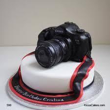 Dslr Camera Cake Design