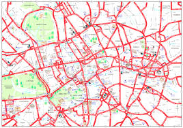 Blank Map Of London by Map Of London Tourist Attractions Sightseeing Tour Best London