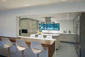 kitchen with island and breakfast bar kitchen island breakfast bar modern retreat in davie florida