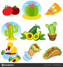 mexican food and household items u2014 stock vector filkusto 166191012